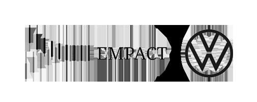 Empact-Volkswagen logos